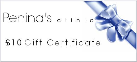 Penina's Clinic Gift Certificate - £10